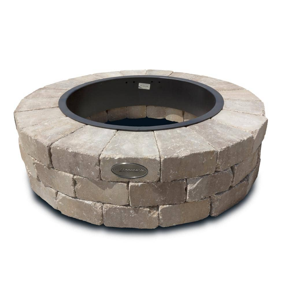 Necessories Grand 48 In Fire Pit Kit Santa Fe 3500003 The Home Depot