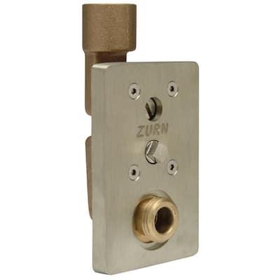 3/4 in. Dia Bronze Narrow Wall Hydrant