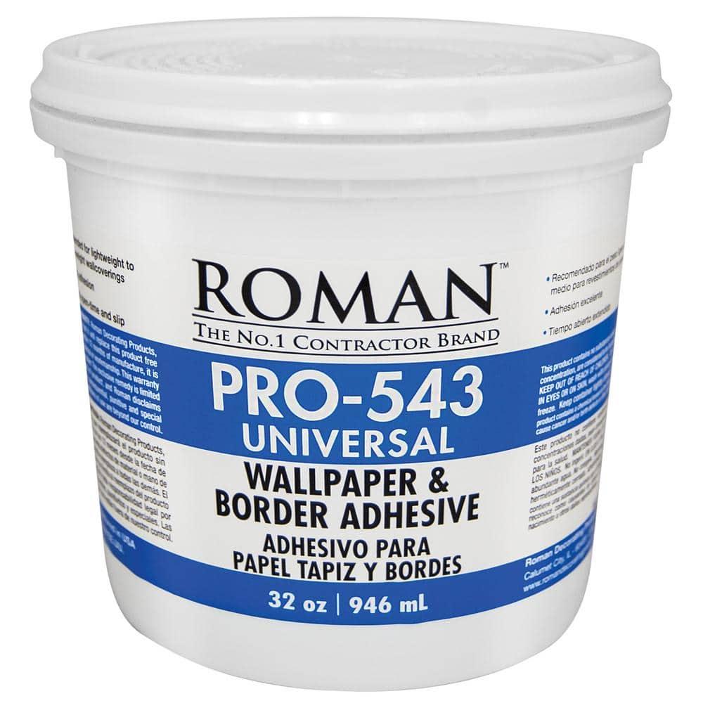 Roman PRO-543 1 Qt. Universal Wallpaper Adhesive