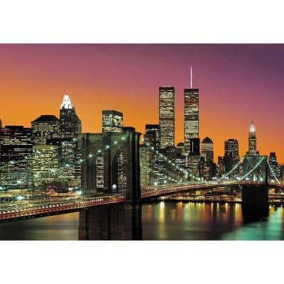144 in. H x 100 in. W New York City Wall Mural