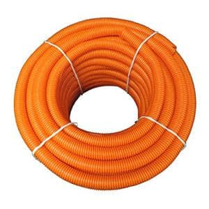 Hydromaxx 1 1 2 In Dia X 25 Ft Pvc Black Flexible Corrugated Split Tubing And Convoluted Wire Loom Bps0112025x The Home Depot