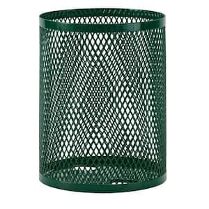 32 gal. Diamond Green Commercial Park Portable Trash Receptacle
