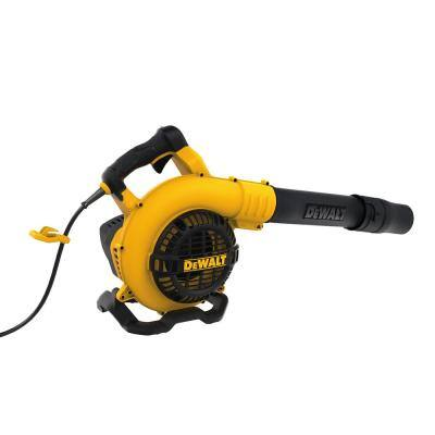 189 MPH 409 CFM 12 Amp Corded Electric Handheld Leaf Blower