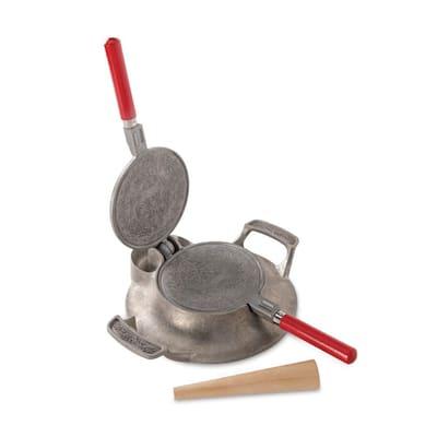 Norwegian Krumkake and Pizelle Iron