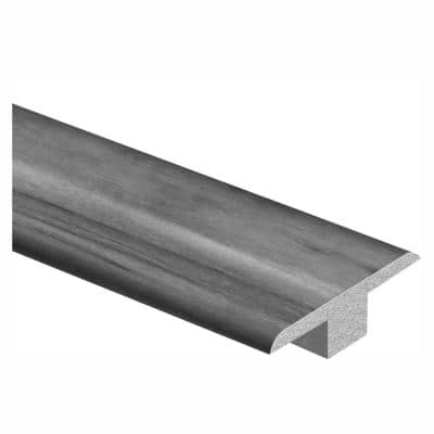 Cinder Wood Fusion 7/16 in. Thick x 1-3/4 in. Wide x 72 in. Length Laminate T-Molding