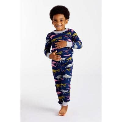 Family Snug-Fit Company Organic Cotton™ Kid's Pajama Set in Dino