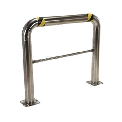 48 in. x 42 in. x 4 in. Stainless Steel High Profile Rack Guard