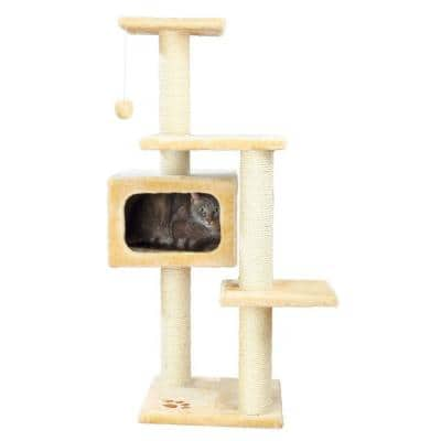 Beige Palamos Cat Tree