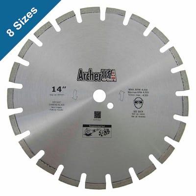 12 in. Diamond Blade for Asphalt Cutting