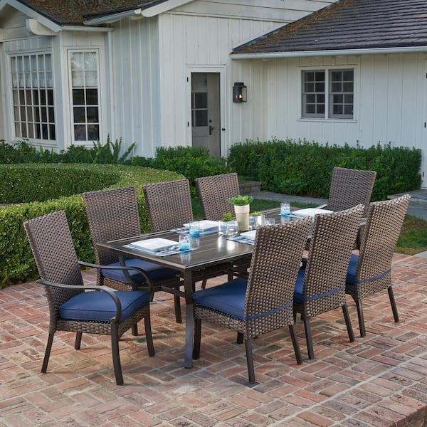 Royal Garden Anacortes 9 Piece Aluminum, Outdoor 9 Piece Dining Set
