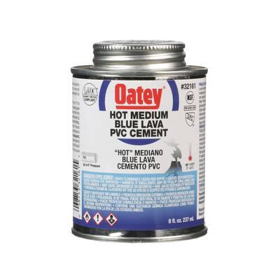 Blue Lava 8 oz. Medium Blue PVC Cement