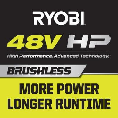 48-Volt Brushless 54 in. 115 Ah Battery Electric Riding Zero Turn Mower