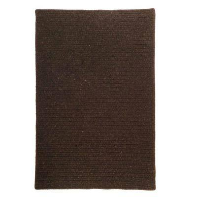 Courtyard Cocoa 3 ft. x 5 ft. Rectangle Braided Area Rug