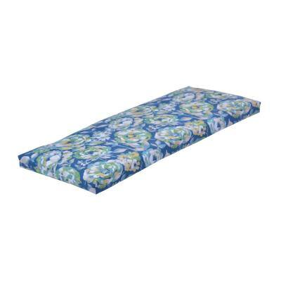 Surplus Floral Rectangular Outdoor Bench Cushion