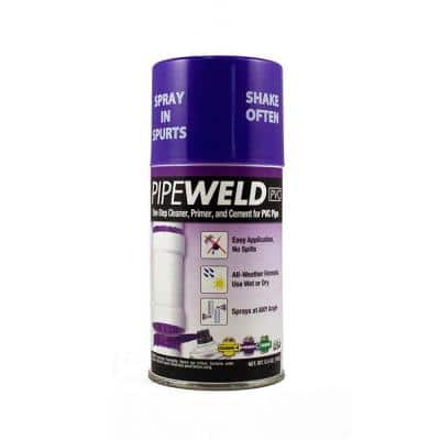 PipeWeld All-In-One Pipe Cement Adhesive for PVC Pipe