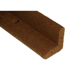 EcoBorder 4 ft. Brown Rubber Landscape Edging (48-Count/Pallet)