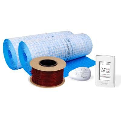 TempZone Cable and Membrane 864 ft. 240-Volt Radiant Floor Heating Kit (Covers 270 sq. ft.)