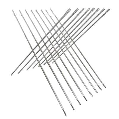 10 ft. W x 4 ft. H Galvanized Steel Cross Brace Stabilizer with Locking Pin for Walk-Through Scaffolding Frames (8-Pack)