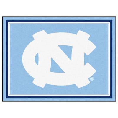 NCAA University of North Carolina Chapel Hill Blue 8 ft. x 10 ft. Indoor Area Rug