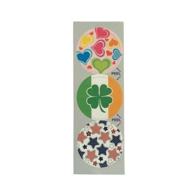 Spring Holidays Decorative Bathroom Sink Stopper Laminates (Set of 3)