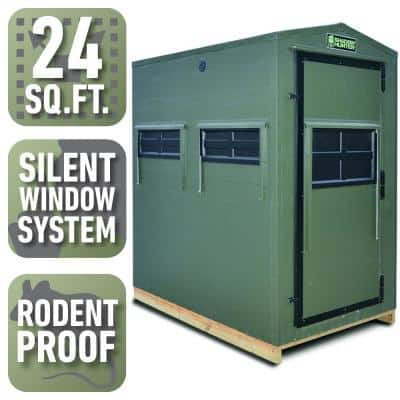 4 ft. x 6 ft. Insulated Gun and Bow Hunting Blind Kit (Assembly Required)