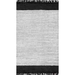 Hayworth Contemporary Silver 6 ft. x 9 ft.  Area Rug