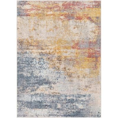 Artistic Weavers Kerron Medium Gray 7 Ft 10 In X 10 Ft 3 In Area Rug S00161028553 The Home Depot