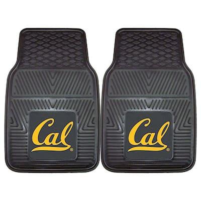 University of California, Berkeley 18 in. x 27 in. 2-Piece Heavy Duty Vinyl Car Mat