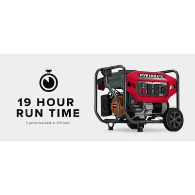 PM4500 3600 Running Watt Manual Start Gasoline Powered Portable Generator with CO-Sense, 50 ST