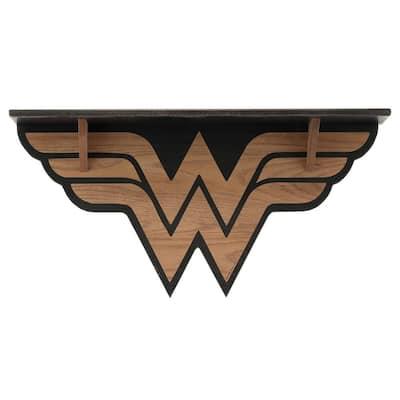 DC Wonder Woman Distressed Wood Shelf