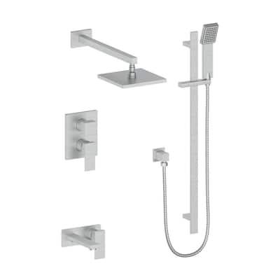 ZLINE Bliss Shower System in Brushed Nickel (BLS-SHS-BN)