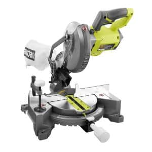 ONE+ 18V Cordless 7-1/4 in. Compound Miter Saw (Tool Only)