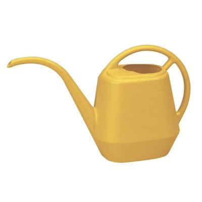 Aqua Rite 144 oz. Earthy Yellow Plastic Watering Can