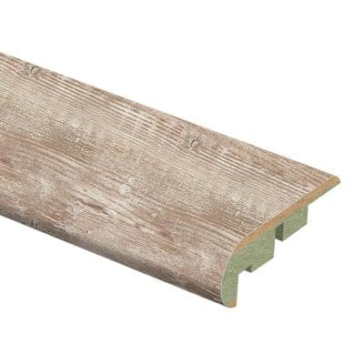 Denali Pine 3/4 in. Thick x 2-1/8 in. Wide x 94 in. Length Laminate Stair Nose Molding