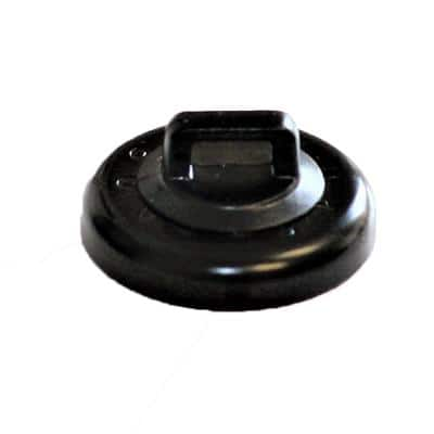 10 LB MAGNETIC CABLE TIE MOUNT BLACK (10 PACK)