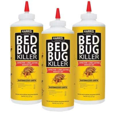 8 oz. Diatomaceous Earth Bed Bug Killer (3-Pack)
