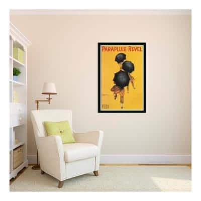 26 in. W x 38 in. H Parapluie-Revel (ca. 1922) by Leonetto Cappiello Framed Art Print