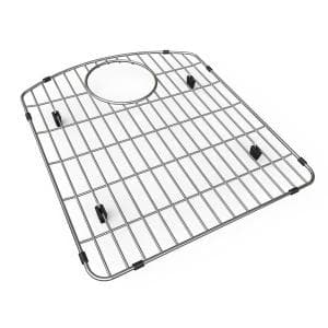 15.0625 in. x 17.1875 in. Bottom Grid for Kitchen Sink in Stainless Steel