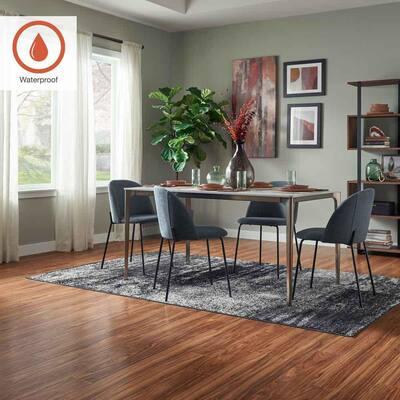 Outlast+ 5.23 in. W Paradise Jatoba Waterproof Laminate Wood Flooring (480.9 sq. ft./pallet)