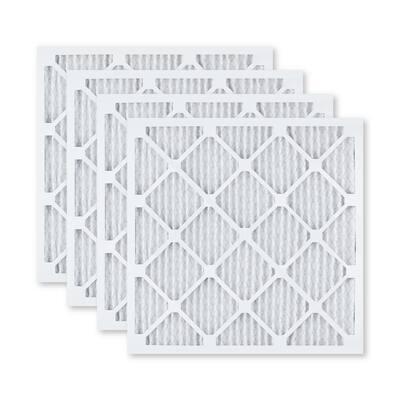 19  x 21  x 1  Elite Allergen Pleated FPR 10 Air Filter (4-Pack)