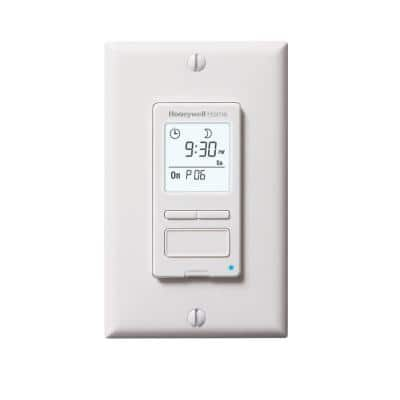 120-Volt 7-Day Programmable Indoor Light Switch Timer with Automatic Daylight Savings