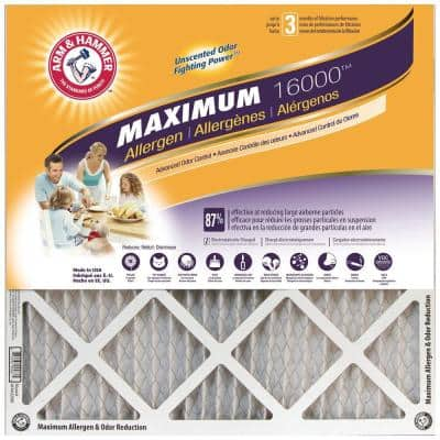 14 x 25 x 1 Maximum Allergen and Odor Reduction FPR 7 Air Filter (4-Pack)
