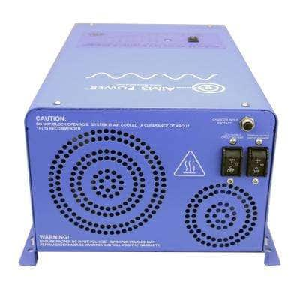 3,000-Watt Pure Sine Inverter Charger 12-Volt DC to 120-Volt AC ETL Listed to UL 458 Standards