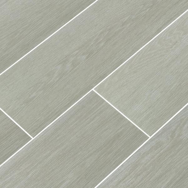 Msi 8 In X 24 5 In Everglades Grey Matte Ceramic Floor And Wall Tile 12 25 Sq Ft Case Nhdevegre8x24 The Home Depot