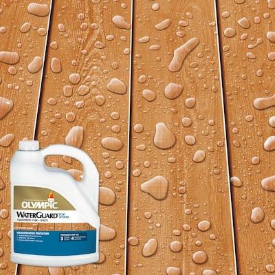 WaterGuard 1 gal. Woodland Cedar Transparent Exterior Wood Stain and Sealer