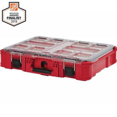 PACKOUT 11-Compartment Impact Resistant Portable Small Parts Organizer