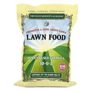 Old Farmer's Almanac 20 lbs. 5,000 sq. ft. Lawn Food Fertilizer
