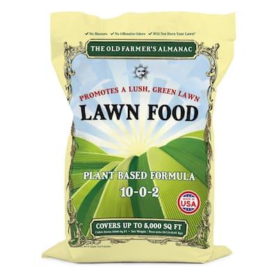 Old Farmer's Almanac 20 lbs. 5,000 sq. ft. Lawn Food Fertilizer