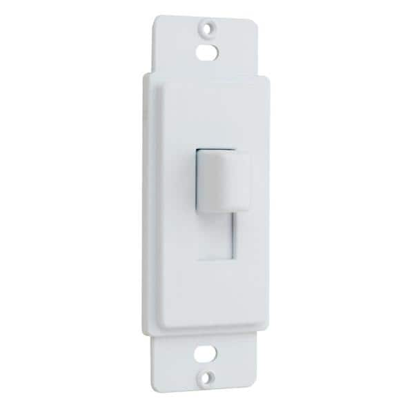 Commercial Electric 1 Gang Or Multi Gang Toggle Plastic Adapter Plate White Ppaw T The Home Depot
