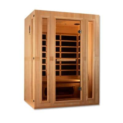 Infracolor 3-Person Upgraded Far Infrared Sauna with 7 Dual Tech Heaters